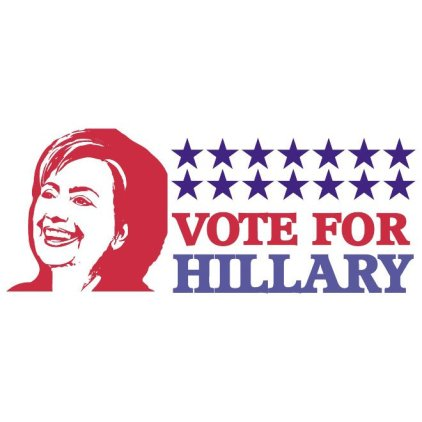 vote-for-hillary-clinton-free-vector-409